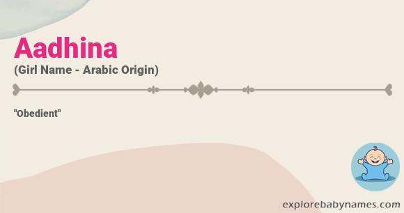 Meaning of Aadhina