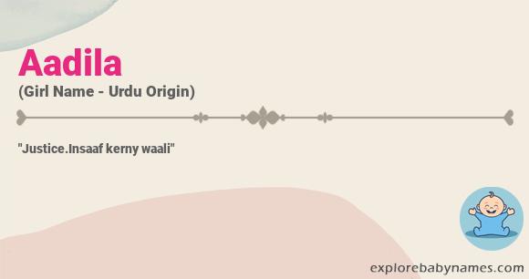 Meaning of Aadila