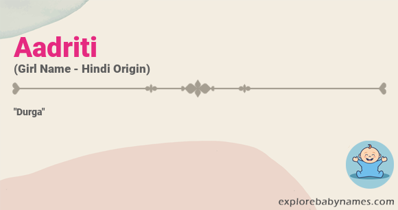 Meaning of Aadriti