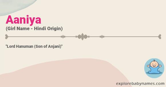Meaning of Aaniya