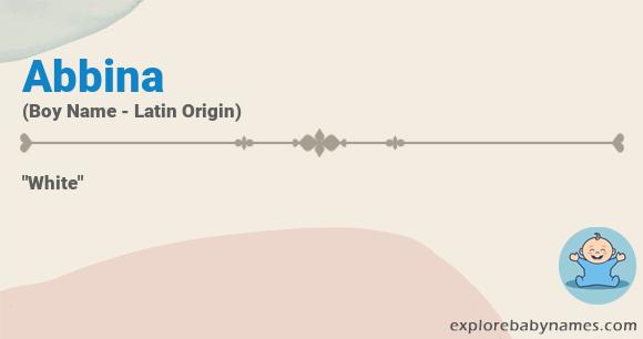 Meaning of Abbina