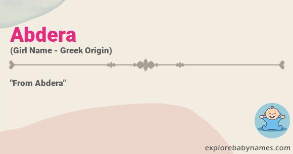 Meaning of Abdera
