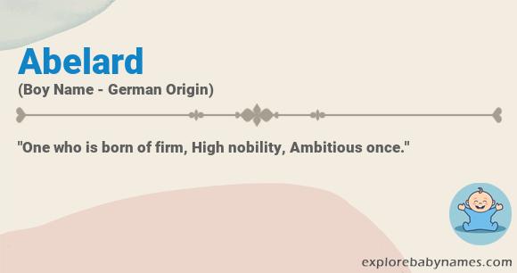 Meaning of Abelard