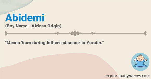 Meaning of Abidemi