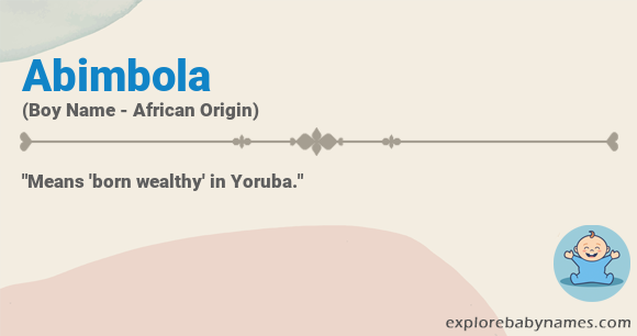 Meaning of Abimbola