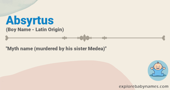 Meaning of Absyrtus