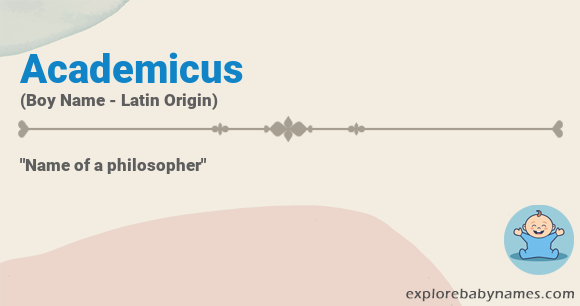 Meaning of Academicus