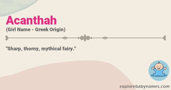 Meaning of Acanthah
