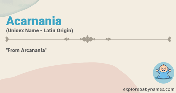 Meaning of Acarnania