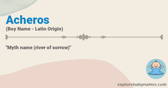 Meaning of Acheros