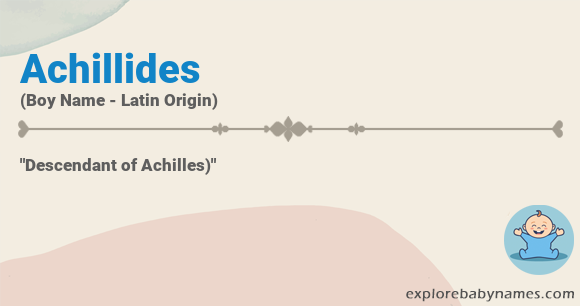 Meaning of Achillides