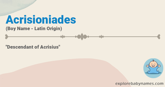 Meaning of Acrisioniades