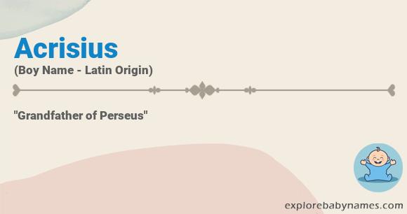 Meaning of Acrisius