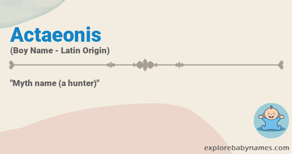 Meaning of Actaeonis
