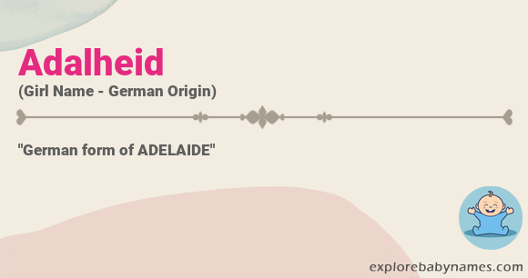 Meaning of Adalheid