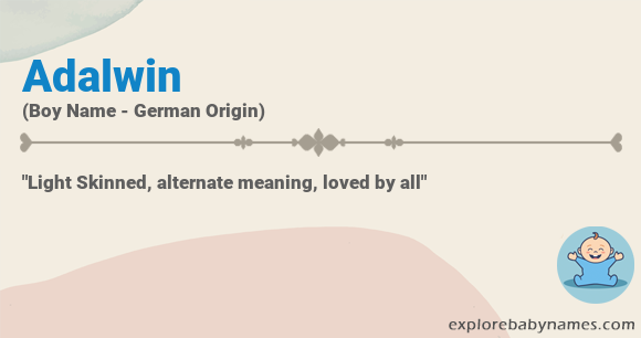 Meaning of Adalwin
