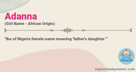 Meaning of Adanna