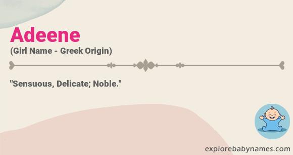 Meaning of Adeene