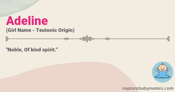 Meaning of Adeline