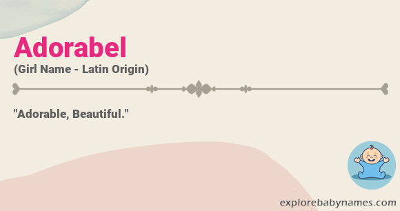 Meaning of Adorabel