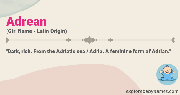 Meaning of Adrean