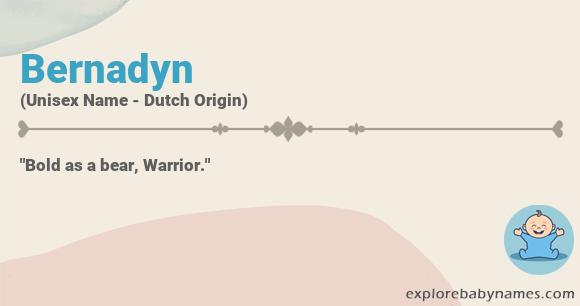 Meaning of Bernadyn