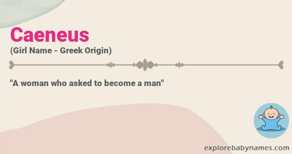 Meaning of Caeneus