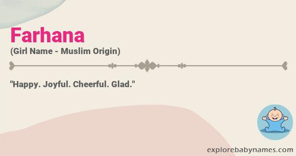 Meaning of Farhana