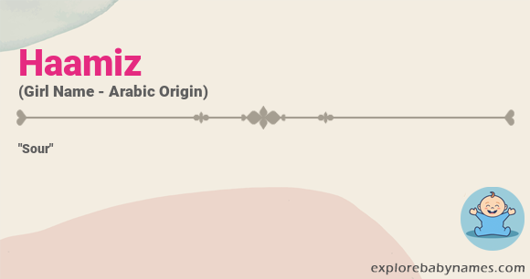 Meaning of Haamiz