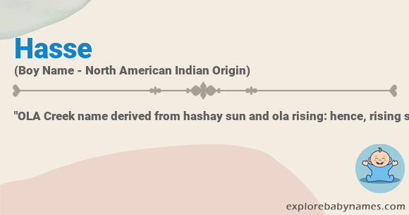 Hasse Name Meaning Origin Pronunciation And Ranking