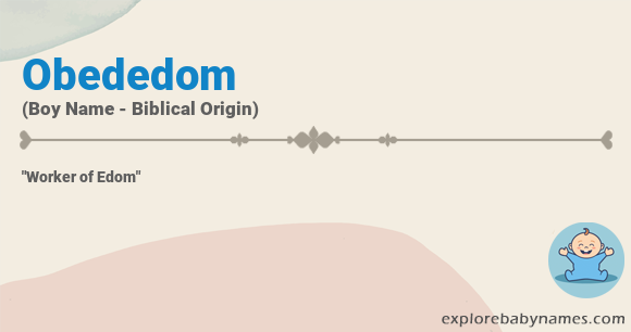 Meaning of Obededom